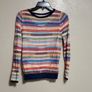 SPARROW (ANTHROPOLOGIE) STRIPED SWEATER